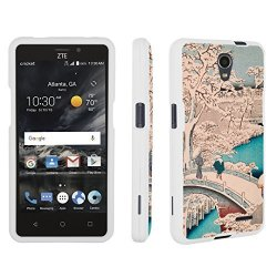 half off be4c5 d2454 DuroCase Zte Sonata 3 Case Zte Chapel Case Hard Case White For Zte Sonata 3  Z832 zte Chapel Z831 Cricket Released In 2016 - Drum Bridge At Meguro | R  ...