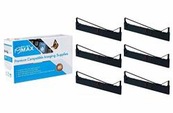 Suppliesmax Compatible Replacement For DFX-5000 8000 8500 Black Printer Ribbons 6 PK 8767-US