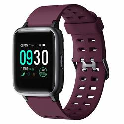 Willful Smart Watch For Android Phones Compatible Iphone Apple Samsung IP68 Swimming Waterproof 2019 Version Smartwatch Fitness Tracker Fitness Watch Heart Rate Monitor Smart