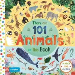 There Are 101 Animals In This Book Board Book