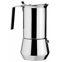 Ilsa Stainless Steel Stovetop Espresso Makers - One Cup