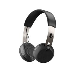 Skullcandy Grind Bluetooth On-ear in Black & Chrome