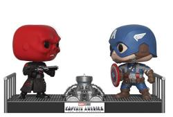 Funko Pop Movie Moments: Marvel- Captain America And Red Skull Collectible Figure Multicolor