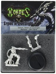 Lion Rampant Imports Ltd Privateer Press - Hordes - Legion: Saeryn Omen Of Everblight Model Kit