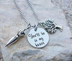Disney - Disney Jewelry - Disney Necklace - Tarzan - You'll Be In My Heart - Disney Gift