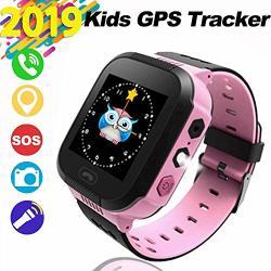 Showerxina Kids Smartwatch Smart Watch For Kids Gps Touch-smartwatch Kinder-tracker-uhren Sos-anti-verlust-lbs Tracker Kamera Taschenlampe Wecker Voice Chat Fur M Dchen Jungen Geburtstag Geschenke