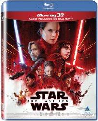 Disney Blu-ray Star Wars: Episode 8 - The Last Jedi 2D 3D Blu-ray Disc