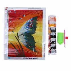 Haowang 30X40CM 5D Diamond Painting Diy Full Butterfly Decorative Painting