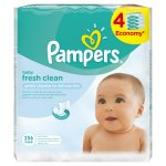 Pampers - Fresh Baby Wipes 4X64S