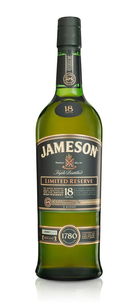 Jameson 750ml Limited Reserve 18 Year Old Whiskey