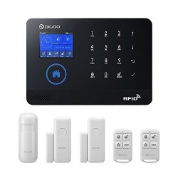 Wolifui Update Verstion Digoo Wireless Home Sercurity System Wifi&gsm 3G 3-IN-1 Wireless Alarm System Come With Pir Windowdoors Sensor Auto Dial App Control Fuction And Remote Controller New:dg-hosa