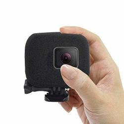 Kobwa Foam Windslayer Windscreen Case Compatible For Gopro HERO5 HERO6- Reduces Wind Noise For Optimal Audio Recording
