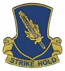 """504TH Airborne Infantry Regiment Patch Strike Hold 3.38"""" X 3.75"""