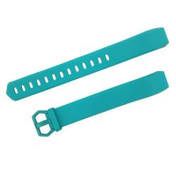 Teal Large Silicone Band For Fitbit Alta