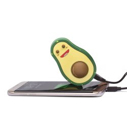 Merch Swipe: Avocado Shaped Powerbank