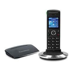 Sangoma DC201N Dect Cordless Sip Ip Voip Base W Handset DC201+D10M