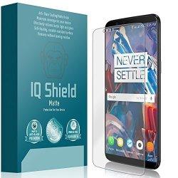 0ff407865a5585 IQ SHIELD Oneplus 5T Screen Protector Matte Full Coverage Anti-glare Screen  Protector For Oneplus 5T Bubble-free Film