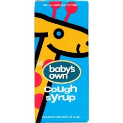 Baby's Own Cough Syrup 50ML
