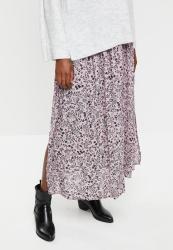 Cotton On Nadia Maxi Skirt Blair Floral Paisley - Keepsake Lilac