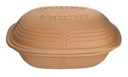 Romertopf By Reston Lloyd Modern Series Natural Glazed Clay Cooker 4.1-QUART Large