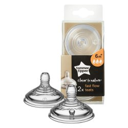 Tommee Tippee Teat Easi Vent 2PK - Large