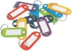 Tag Key Mts Plastic 300pc Asst Colours