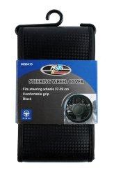 Moto-Quip Motoquip - Steering Wheel Cover - Black