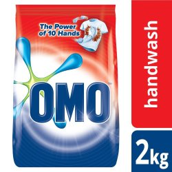 Omo Hand Washing Pwd 2KG Multive Active
