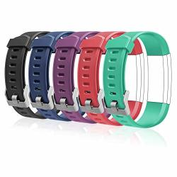 Letscom Replacement Bands For Fitness Tracker ID115PLUS Hr And ID115PRO Adjustable Wristbands For Women Men