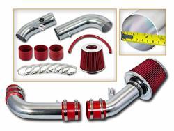 Rtunes Racing Short RAM Air Intake Kit + Filter Combo Red Compatible For 99-05 Mazda Miata 1.8L