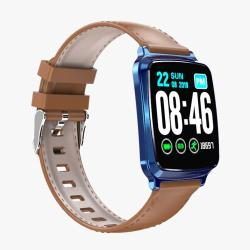 M8 1.3 Inch Ips Color Screen Smart Bracelet IP67 Waterproof Support Step Counting Call Reminder Heart Rate Monitoring Sleep Monitoring Blue