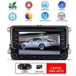 7 Double Din Car Navi Stereo Gps DVD Navigation System For Capacitive Vw Volkswagen Passat Golf Jetta Tiguan Skoda Scirocco Octa