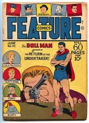 Feature Comics 111 1947- Doll Man- Undertaker G