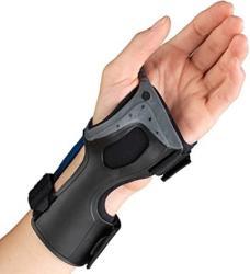 Otc Wrist Brace Molded Exoskeleton Low-profile Exolite Medium Left Hand