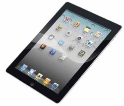 Targus Screen Protector With Bubble Free Adhesive For Apple Ipad 2 16GB 32GB 64GB Wifi + 3G AWV1231US -clear