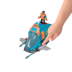 Imaginext Shark Feature Asst With Figure And Vehicle Packs