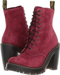 f99ef2bd44b9 Dr. Martens Women s Kendra Fashion Boot Wine 3 Medium UK 5 Us ...
