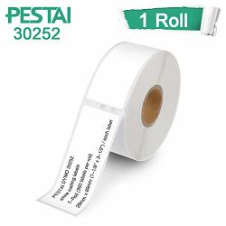 """1 Roll Dymo 30252 Compatible 1-1 8"""" X 3-1 2"""" 28MM X 89MM Self-adhesive Address Labels Compatible With Dymo 450 450 Turbo 4XL And Many More"""
