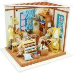Robotime Wooden Model Diy House Kit - Lisa's Tailor