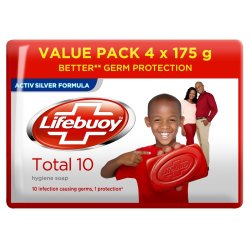 Lifebuoy Total Soap 4 Pack
