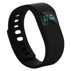 Tera TW64 Bluetooth Health Smart Oled Bracelet Wristband Watch Pedometer Cell Phone Mate Black With