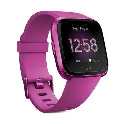 Fitbit Versa Lite Smartwatch in Mulberry
