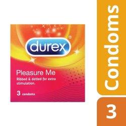 Durex Pleasure Me Condoms - 3'S