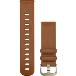 Garmin Light Brown Leather Small Forerunner 645 Quick Release Band