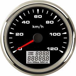 Sierra International 781-684-080P Scratch Resistant Eclipse Gauge 80 MPH GPS Speedometer 3