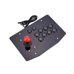 Haihuic Arcade Game Controller For PC USB Arcade Fight Stick Gamepad Joystick And 10 Buttons For Mame Kof Street Fighter Other F