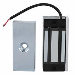 Dc 12V Electromagnetic Locks Alluminum Electronic Magnetic Door Lock With 60KG Linear Pull For Access Control