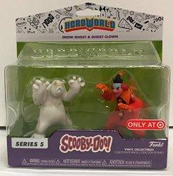 Hero Wold Funko Hero World Scooby Doo Vinyl Figure 2 Pack Target Exclusive Snow Ghost & Clown
