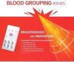 Group Blood Test Kit - Abo & Rhd