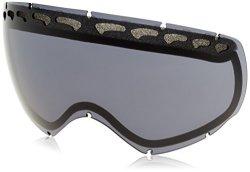 Oakley Men's Crowbar Snow Goggle Replacement Lens Dark Grey Dark Grey Medium